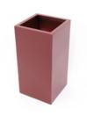 EUROPALMS  LEICHTSIN BOX-80 Ghiveci decorativ rosu lucios