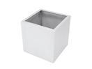 EUROPALMS LEICHTSIN BOX-50 Ghiveci decorativ argintiu lucios