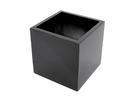 EUROPALMS  LEICHTSIN BOX-50 Ghiveci decorativ negru lucios
