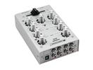 OMNITRONIC GNOME-202 Mini mixer, argintiu