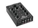 OMNITRONIC GNOME-202 Mini mixer, negru