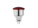 OMNILUX LED MR-11 12V/3W G-4 rosu