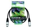 SOMMER CABL SG01-0090-SW Cablu cu XLR mamă la tată, 0,9m