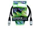 SOMMER CABL SG01-0150-SW Cablu cu XLR mamă la tată, 1,5m