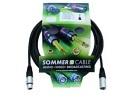 SOMMER CABL SG01-0600-SW Cablu cu XLR mamă la tată, 6m