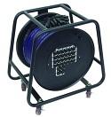 OMNITRONIC Rolă cu cablu Multicore cu distribuție, 24IN/4OUT, XLR, 50m