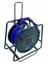 OMNITRONIC Rolă cu cablu Multicore cu distribuție, 24IN/8OUT, XLR, 50m