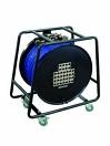 OMNITRONIC Rolă cu cablu Multicore cu distribuție, 28IN/8OUT, XLR, 50m