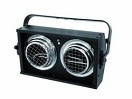 Audience Blinder, 2xPAR-36, DMX, 1-Ch, negru