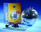 EUROLITE Glob cu oglinzi, 30cm, cu motor MD-1515