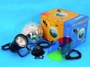 Set glob cu oglinzi 20cm cu motor + pinspot + filtru colorat
