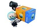 Set glob cu oglinzi 20cm cu motor + Pinspot cu LED 6000K