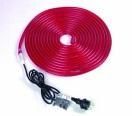 EUROLITE RL1 Tub flexibil luminos, 230V, roșu, 5m