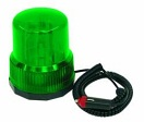 EUROLITE Police beacon DER-1221, verde, 12V/21W