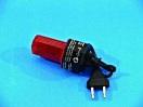 EUROLITE LED-strobe cu cablu si steker, roșu