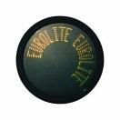 EUROLITE Disc publicitar cu LED cu mesaj în mișcare, portocaliu