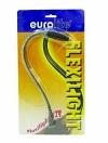 EUROLITE Lampă flexibilă Gat de lebădă, 12V/5W, BNC, rotund